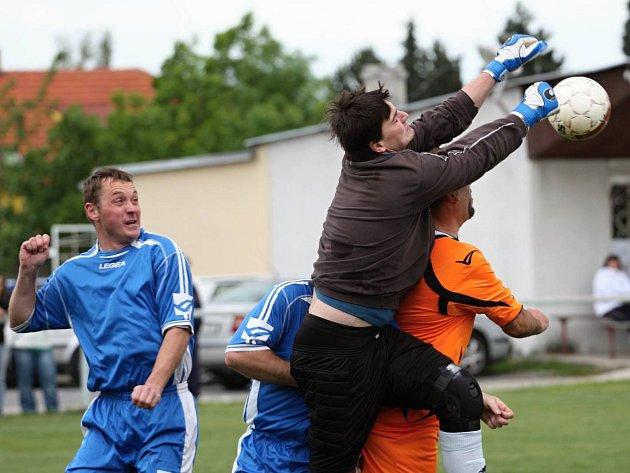 Z utkání Tuchoraz - Třebovle (1:0).