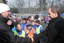 Z návštěvy ministra Marcela Chládka v Kolíně