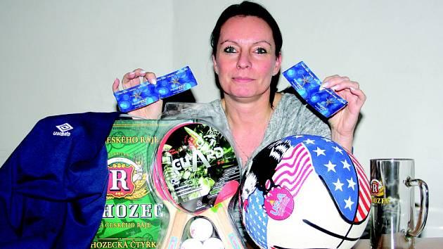 1. MÍSTO. Vítězkou podzimní části se stala Dita Staňková z Kutné Hory.
