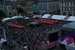 První festivalový den bez vstupného nepřinesl žádné problémy.
