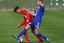 Z utkání FK Kolín - Štěchovice (1:2).