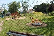 Centrální dětské hřiště v Kolíně.