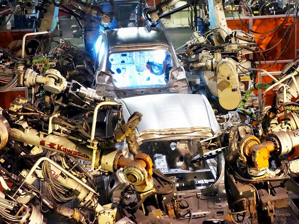 Výroba v kolínské automobilce TPCA