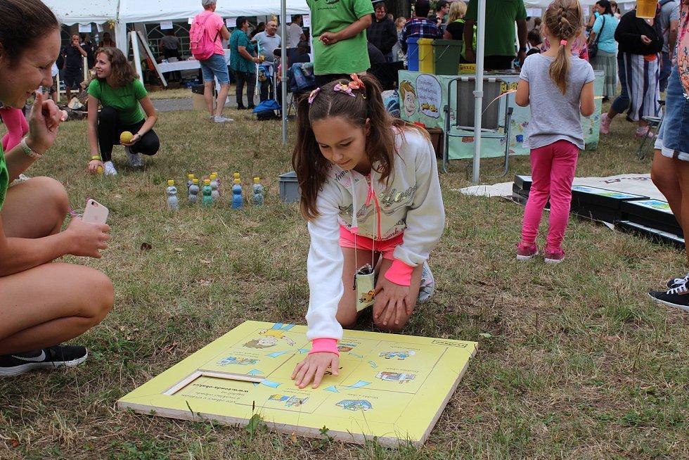 Rodinný festival Kouřimská skála zahájil pohádkový program.