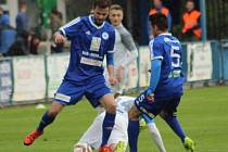 Z utkání FK Kolín - Turnov (2:1).