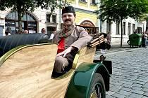 Hlavní slavnostní průvod Kmochova Kolína 2012