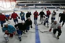 Prvního tréninku na ledě se zúčastnilo celkem 19 hráčů.