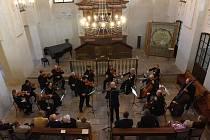Jubilejní již dvacátý Vzpomínkový koncert na památku odsunutých kolínských židů.