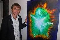 Richard Pachman zahájil svou výstavu v Českém Brodě
