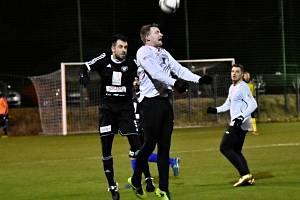 Z přípravného utkání FK Kolín - Kutná Hora (4:0).