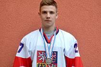 Dominik Mašín je úspěšný hokejista. Kariéru má však před sebou.