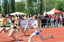 Ze závodu Youth Athletics – Sokol Grand Prix.