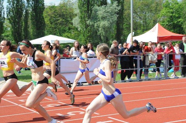 Ze závodu Youth Athletics – Sokol Grand Prix.