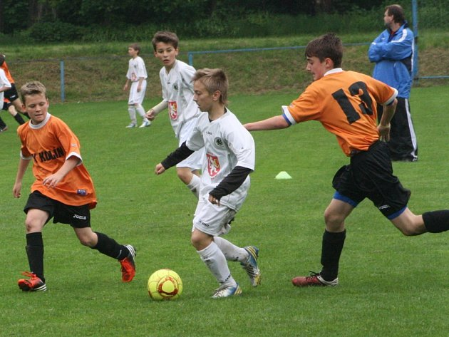 Z utkání FK Kolín U13 - Hradec Králové (4:8).