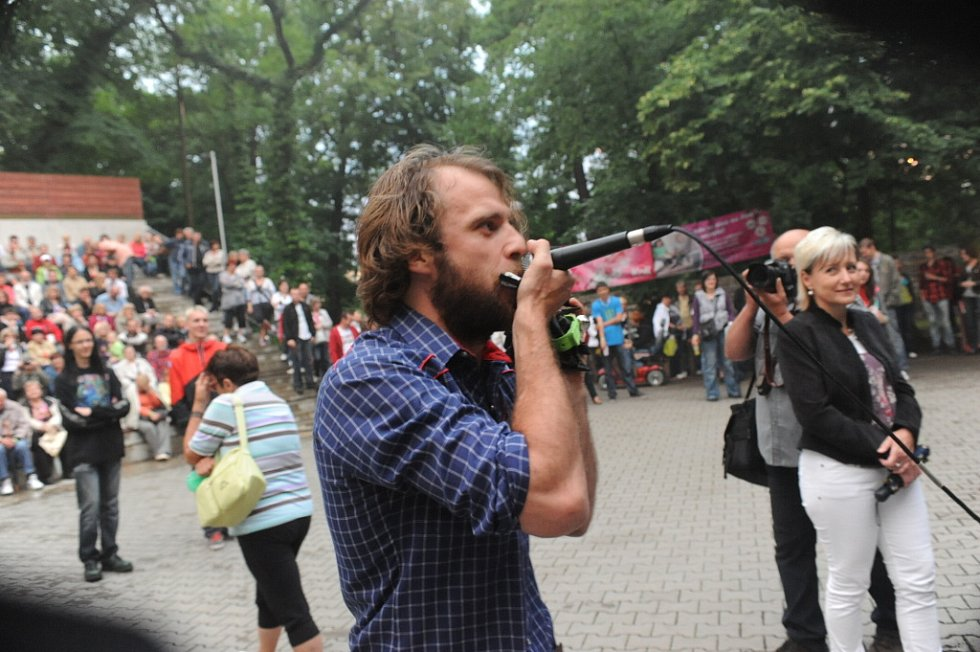 Páteční program Kmochova Kolína 2012 okem Zdeňka Hejduka