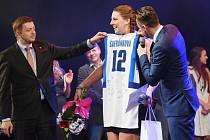 Sportovkyně Kolína 2016 Kateřina Šafránková na předávání cen
