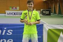 Martin Krumich ukázal talent. Jako čtrnáctiletý vyhrál mezinárodní turnaj do 16 let.