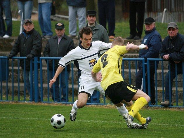 Z utkání FK Kolín - Liberec B (0:1).