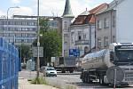 Ulice U Křižovatky v Kolíně.