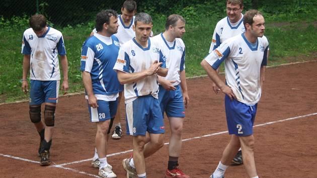 Z utkání Kolín - Čelákovice (3:2).