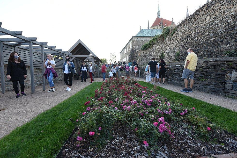 Otevření zrekonstruovaného areálu, který dostal název Bartolomějské návrší.