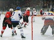 Z utkání Kolín - Děčín (1:4)