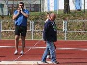Za krásného počasí se uskutečnil 63. ročník Polabských závodů v atletice.