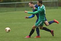 Z utkání Ratboř - Červené Pečky (4:0).