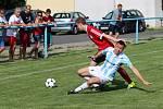 Z utkání Tuchoraz - Sadská (2:1).