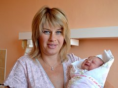 Ella Zajícová se narodila 5. září 2013 s mírami 50 centimetrů a 3335 gramů. S maminkou Evou a tatínkem Jiřím pojede domů do Radimi za pětiletou sestřičkou Verunkou a osmiletým bráškou Jakubem.