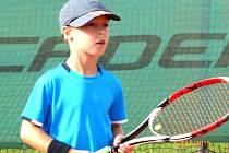 Patrik Ulrich, velký talent kolínského tenisu.
