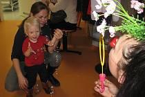 Zdravotní klauni v kolínské nemocnici