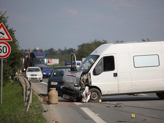 Nehoda na silnici I/12 - 16. 7. 2009