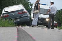Dopravní nehoda u Starého Kolína.