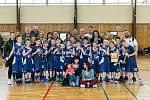 Kolínští mladíci jako vítězové mezinárodního turnaje v Klatovech.