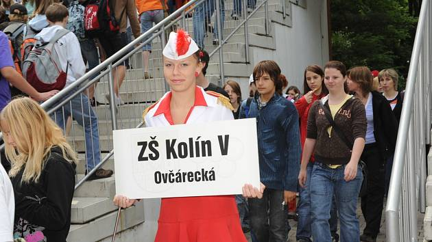 Ze zahájení Kolínských sportovních dnů základních škol