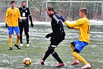Z přípravného utkání FK Kolín - Benešov (1:3).