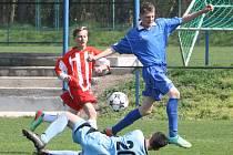Z utkání FK Kolín U14 - Viktoria Žižkov (0:4).
