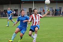 Z utkání Liblice - Tuchoraz (3:0).
