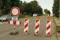 Kvůli uzavírce v Havlíčkově ulici se lze do Kolína ve směru od Čáslavi dostat pouze po obchvatu.