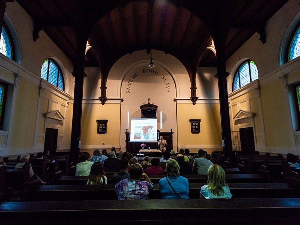 Noc kostelů v Nymburce v roce 2018.