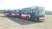 Nehoda autobusu v Doubravčanech