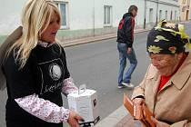 Charitativní sbírka Světluška. Ilustrační foto
