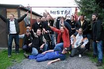Z oslav sendražických fotbalistů konce fotbalové sezony a postupu do III. třídy.