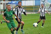 Z utkání Kolín - Nymburk (9:0).