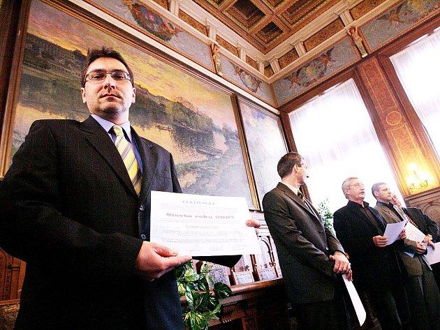 Slavnostní předávání certifikátů Stavba roku 2007