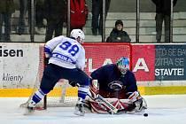 Z utkání II. NHL Kolín - Chotěboř (9:1)