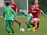 Z utkání dorostu Štítarský SK - Chotusice (1:1, PK 4:5).