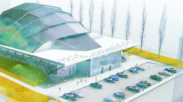 Budoucí sportovní hala