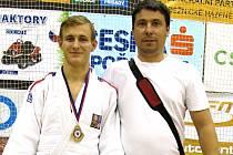 Michal s trenérem Jardou Hnátem